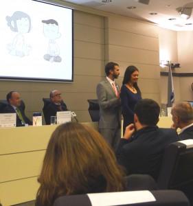 Jorge Urrea y Silvia Leal