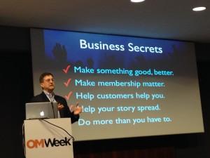 Steve Chazin business secrets