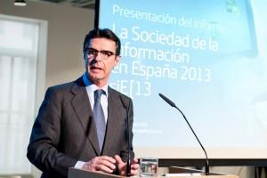 Ministro en la presentación
