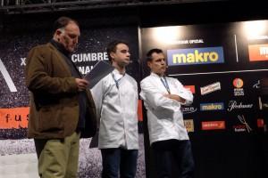 José Andrés, Oriol Castro y Eduard Xatruch en Madrid Fusion 2014