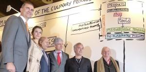Los Príncipes en Arco con Ferran Adrià