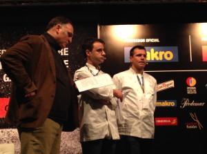 Oriol, Xatruch y Jose Andrés