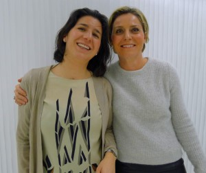 Ana Ruiz y Paula Álvarez MET Españaa