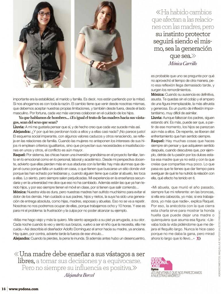 Alejandra Borcell y Mónica Carillo