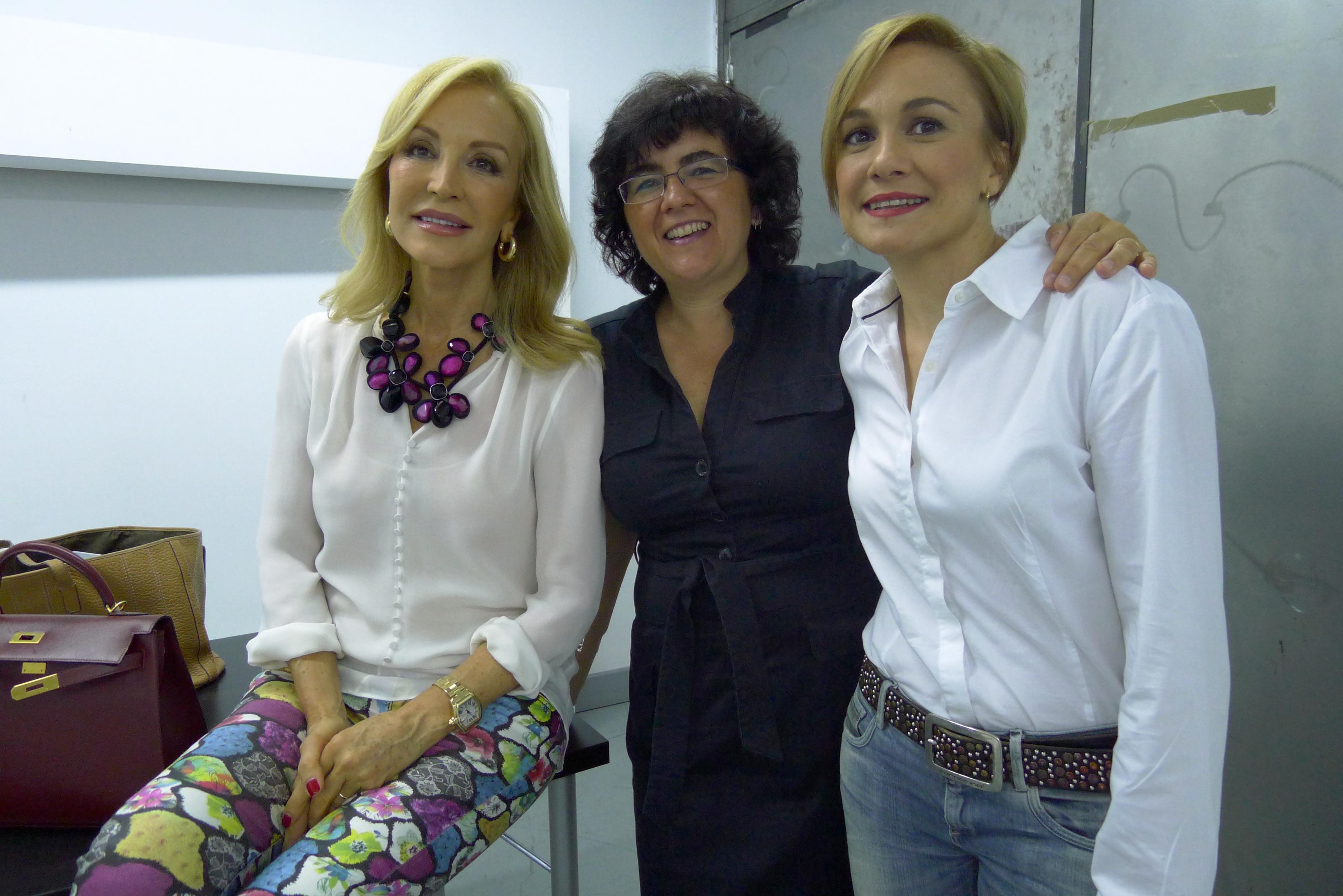 Carmen Lomana Silvia Castillo y Maria Alonso