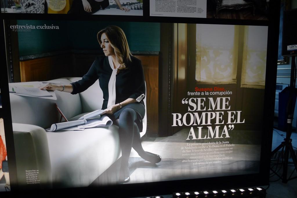 La presidenta de Andalucía en Yo Dona