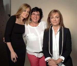 Cristina Morató, Pepa Fernández y Silvia Castillo