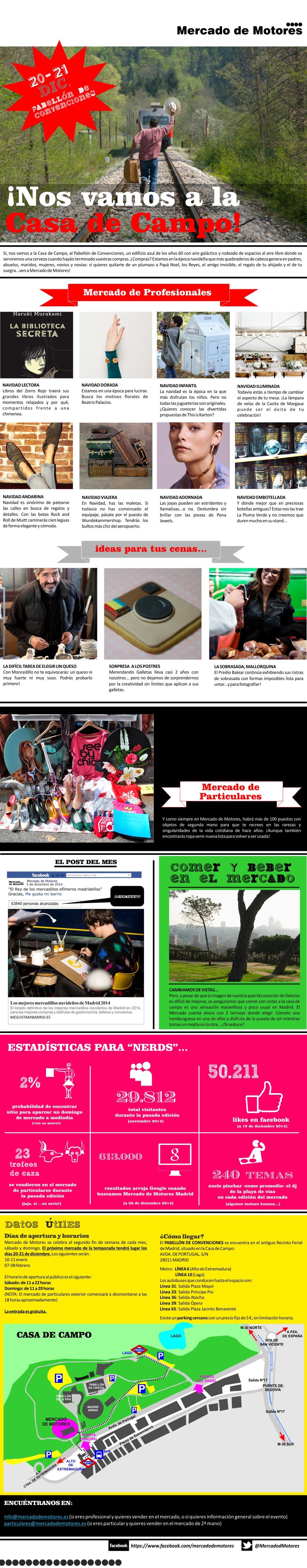 Mercado de Motores en la Casa de Campo 20 y 21 diciembre 2014