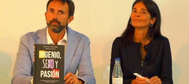 Silvia Leal y Jorge Urrea autores de Ingenio, Sexo y Pasión