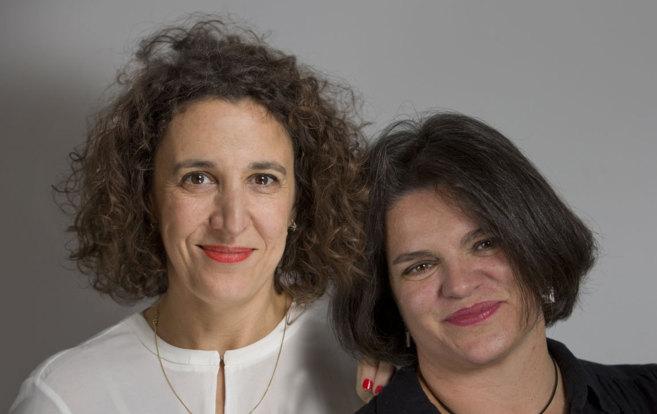 Isabel Garcia Zarza y Silvia Oviano