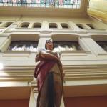 Mascarón de proa de Diana en el Museo Naval de Madrid